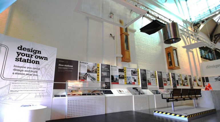 Design Line exhibition opens at London Transport Museum_241547