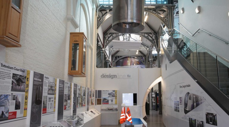 Design Line exhibition opens at London Transport Museum_241556