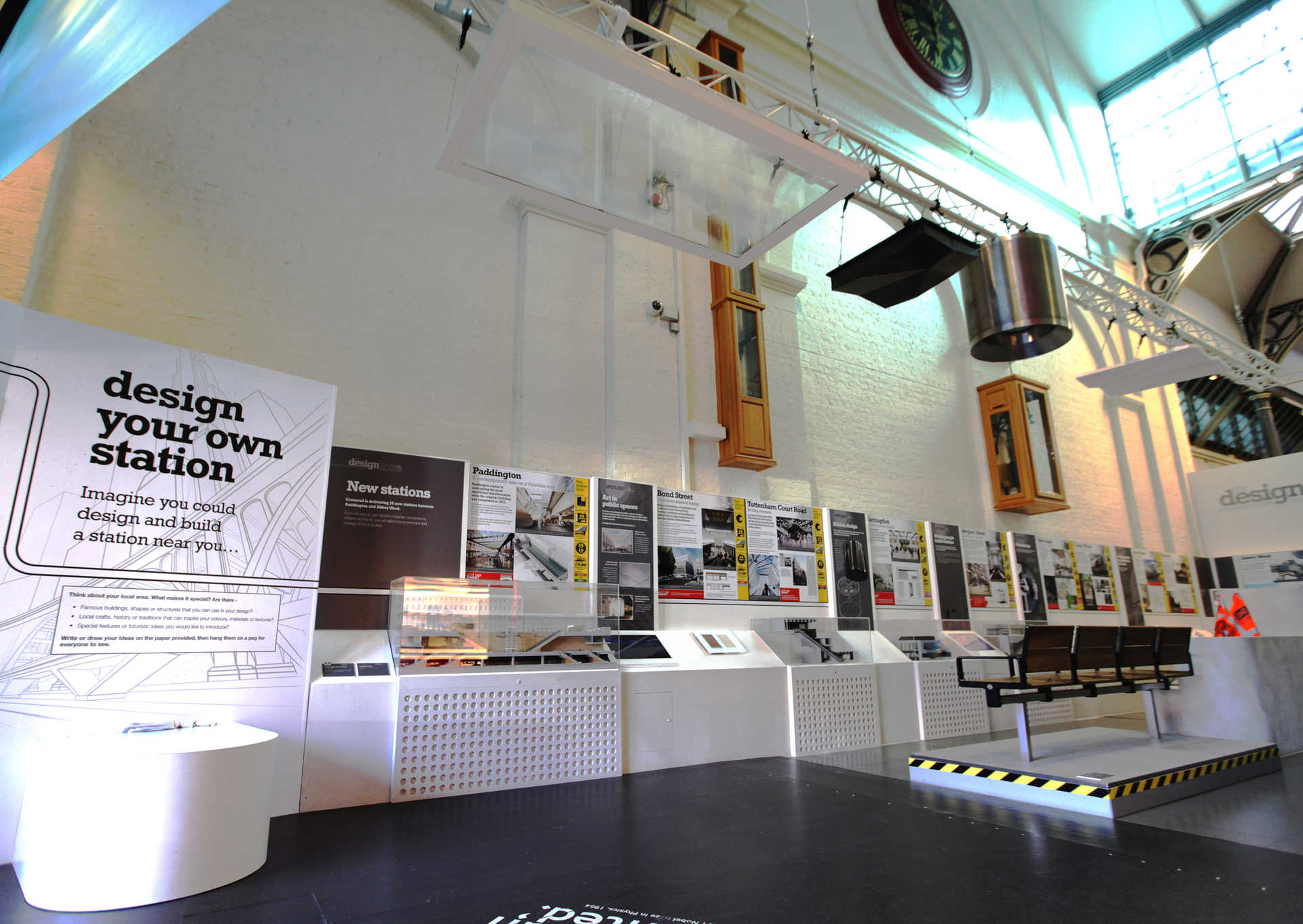 Crossrail Designline Exhibition At London Transport Museum 241547