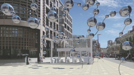 Yayoi Kusama and Conrad Shawcross to create major public artworks for London's Elizabeth line