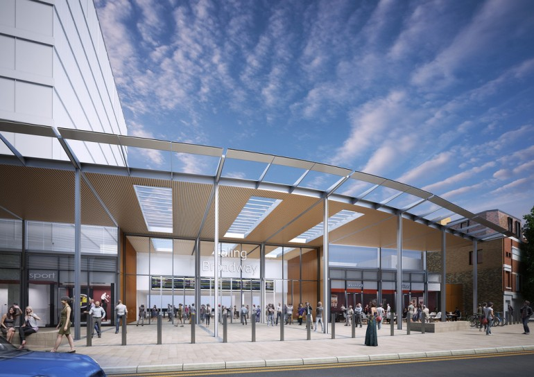 Improved Ealing Broadway station designs revealed