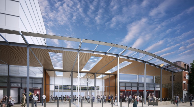 Architects impression of Ealing Broadway Station_142941