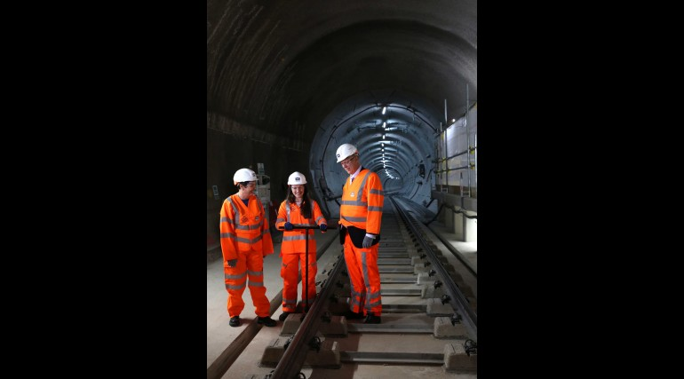 Elizabeth line permanent track installation is complete_281239