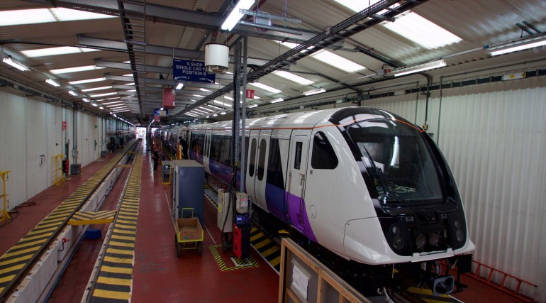 Elizabeth line trains in production_242653