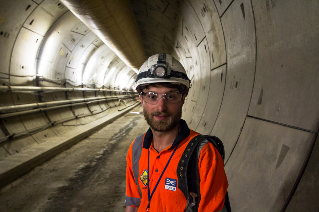 Ed Batty - Shift Engineer, Crossrail Western Tunnels_149884