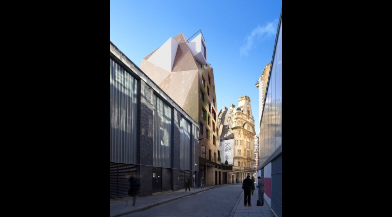 Fisher Street - architects impression of proposed oversite development