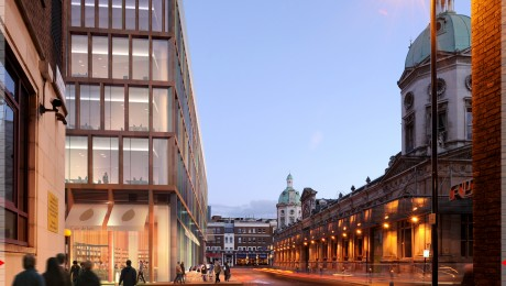 Crossrail gains planning approval for Farringdon offices