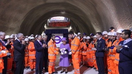 Crossrail to become the Elizabeth line in honour of Her Majesty the Queen