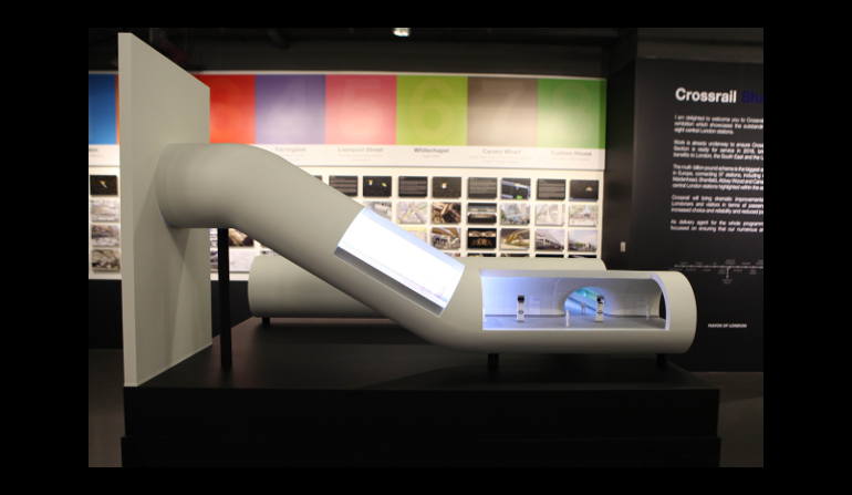 Crossrail Station Images Exhibition - 03