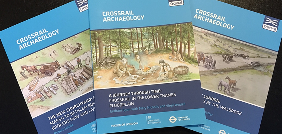 Final 3 archaeology books launched