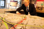 Mayor Boris Johnson attends Crossrail Station Design Exhibition at New London Architecture building