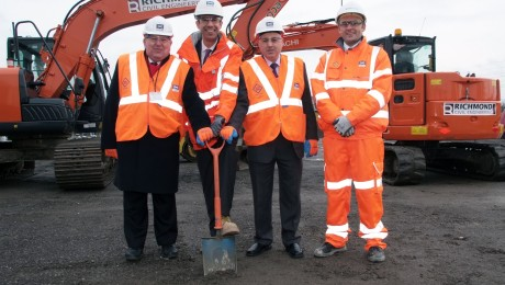 Ground-breaking event marks start of £50m Crossrail upgrade for Ilford Yard