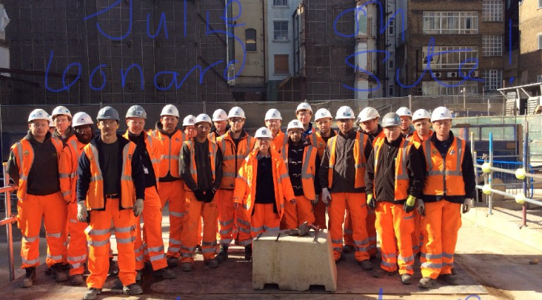 Bond Street Station site team