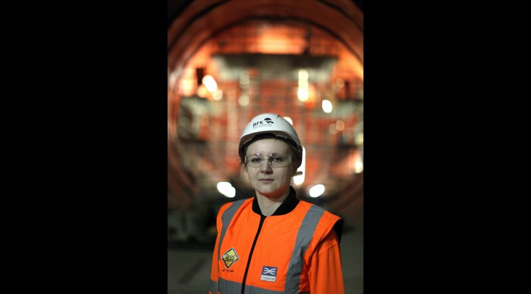 Justyna Wsol, Civil Engineer working for Ferrovial at Farringdon_211970