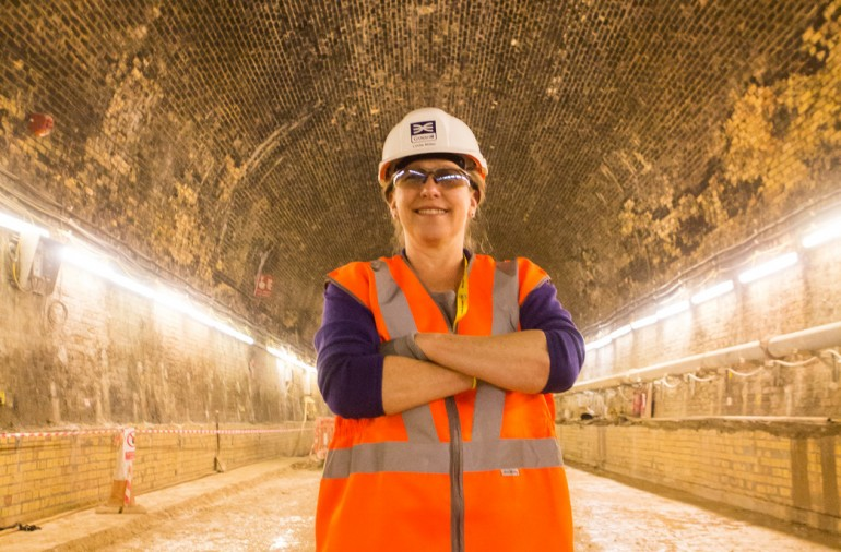 #TeamCrossrail Blog: Linda Miller, Project Manager Connaught Tunnel