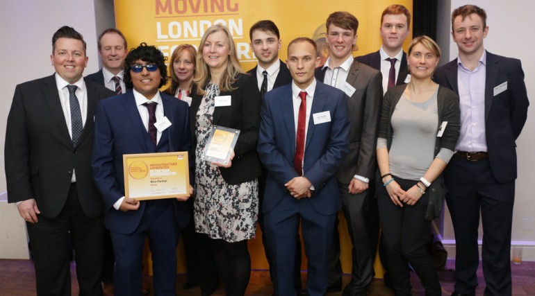 Laing O'Rourke wins Employer of the Year - Crossrail Apprentice Awards 2015