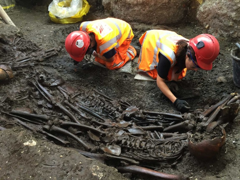 Crossrail completes UK's largest archaeology programme