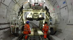 Crossrail's fleet of bespoke machines to fit-out the tunnels