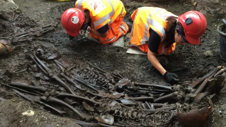 Crossrail completes UK�s largest archaeology programme