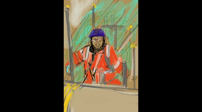 Paddington site worker