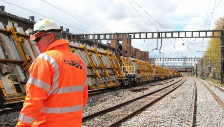 Major works for Crossrail project delivered by Network Rail over bank holiday weekend
