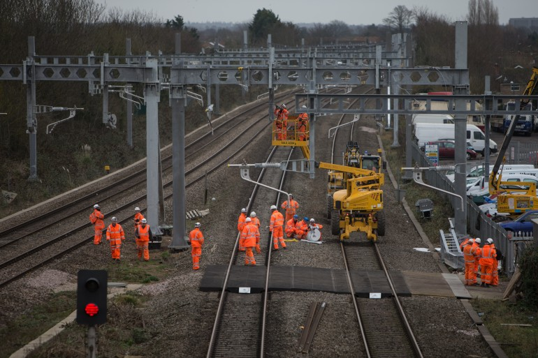 Major Crossrail improvement works delivered over Christmas and New Year