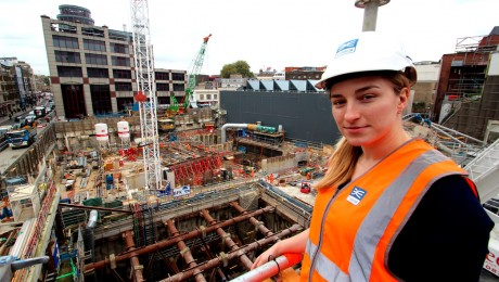 #TeamCrossrail Blog: Olga Konopka, Assistant Engineering Manager - Crossrail Farringdon Station