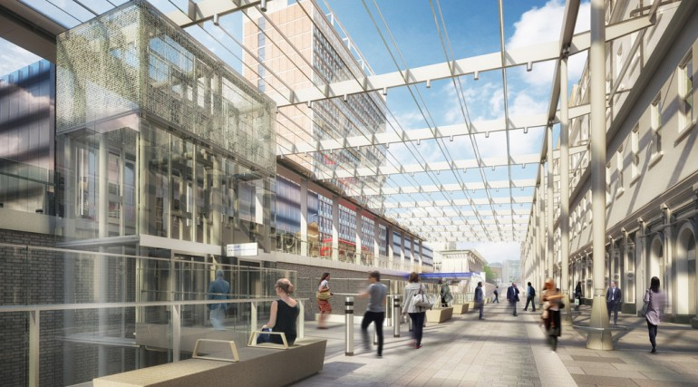 Paddington Station - architects impression of urban realm proposal_138941