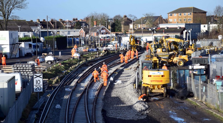 Points renewal at West Ealing_218140