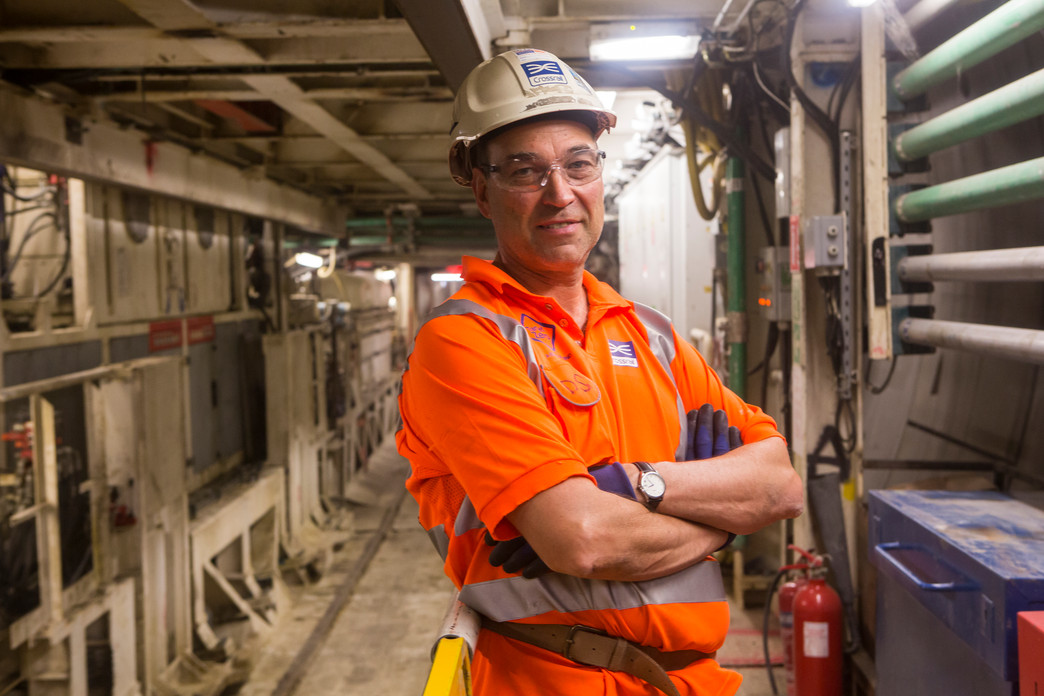 David Shepherd - Site Manager, Crossrail Eastern Tunnels_150112