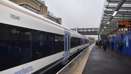 Crossrail moves a step closer for Abbey Wood as new platform opens