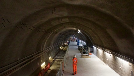 Platforms completed at new Liverpool Street station