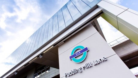 Bigger and better DLR station opens at Pudding Mill Lane