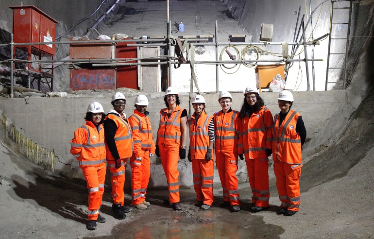 Rail Minister Claire Perry celebrates contribution of women to Crossrail