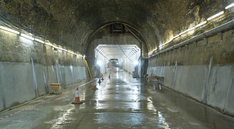Refurbishment of Connaught Tunnel complete_ July 2014_145788
