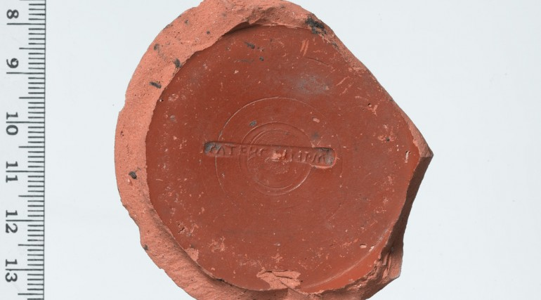 Potter's stamp Roman period
