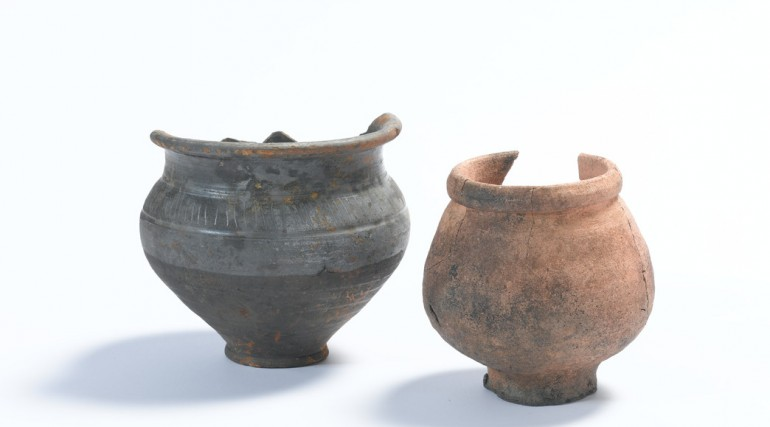 Two jars Roman period