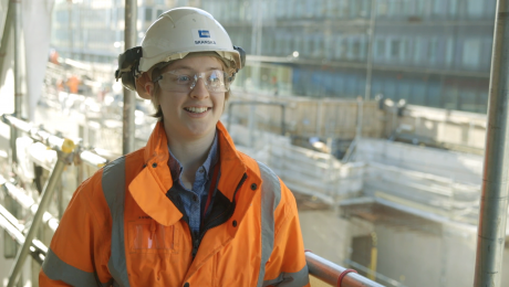 #TeamCrossrail Blog: Rebecca Hughes, Apprentice Site Engineer
