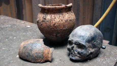 Roman skulls headline new Crossrail archaeology exhibition