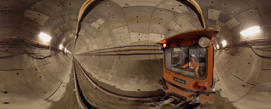 NEW 360° INTERACTIVE VIDEO OF CROSSRAIL TUNNELS