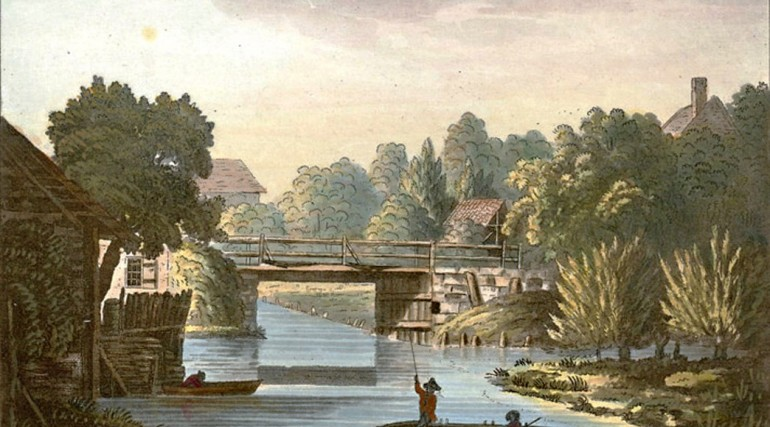 Scene on the River Lea 1788_131477