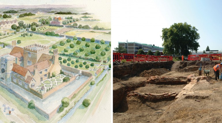 Stepney Green archaeology book launch hero image