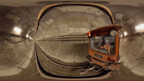 360° video: New footage lets passengers explore Crossrail tunnels