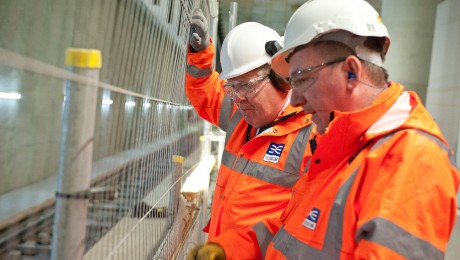 Transport Secretary sees Crossrail progress in southeast London