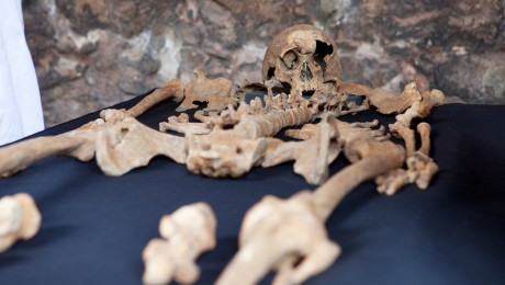 New research shows Crossrail�s Charterhouse skeletons were Black Death victims