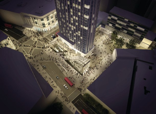 TfL builds new road for Tube station construction - TfL Press Release
