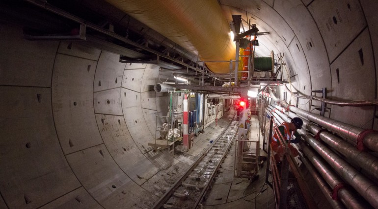 TBM Ada completes 6.9 kilometre journey to Farringdon_116992