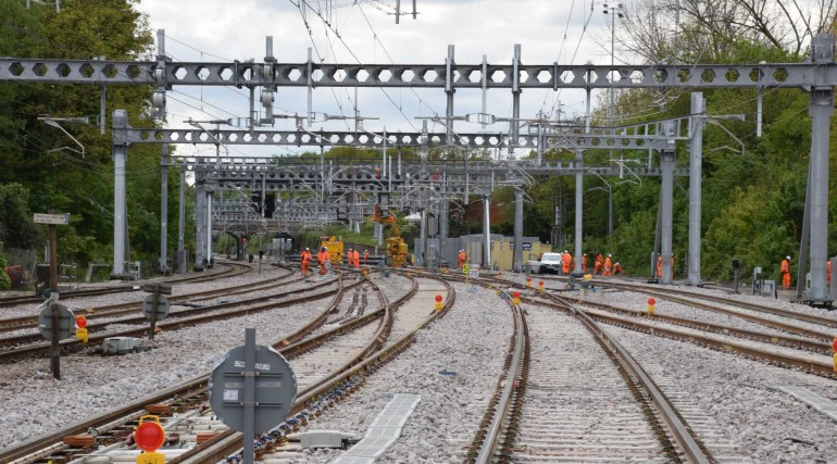 Track and station improvements at Shenfield completed as TfL Rail services return_269189