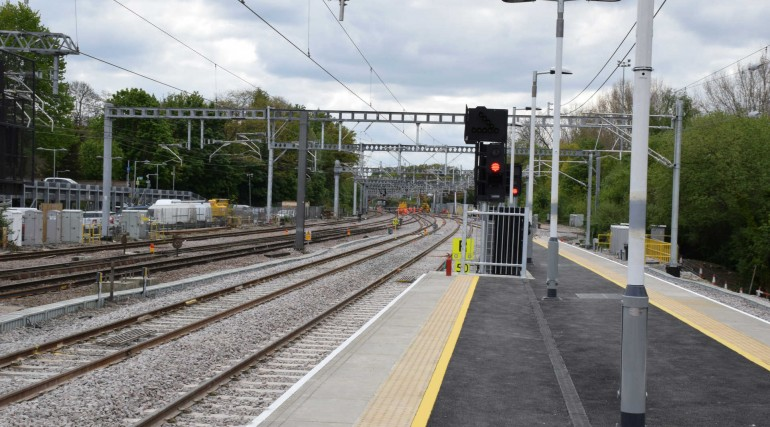 Track and station improvements at Shenfield completed as TfL Rail services return_269191