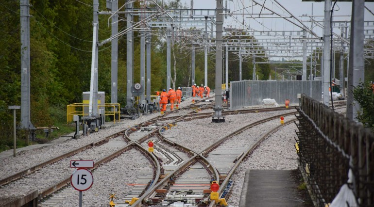 Track and station improvements at Shenfield completed as TfL Rail services return_269273